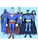 DC Comics Justice League - Animated Series  by Mattel ~ Lot of 5 ~ appro... - $93.99
