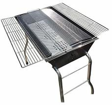 Raon Road BG-107 Stand Type Folding Barbecue Charcoal Grill