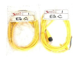 LOT OF 2 NEW BARRINGTON AUTOMATION EQ-C EQC CABLE ASSEMBLIES 4PIN FEMALE 6FT