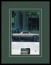 1964 Cadillac Hydra-Matic Framed 11x14 ORIGINAL Vintage Advertisement - $41.71