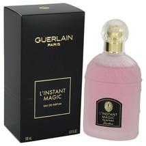 L'instant Magic By Guerlain Eau De Parfum Spray 3.3 Oz For Women - $86.36