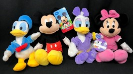 Mickey, Minnie, Donald & Daisy Disney Just Play LLC Plush Set 4 - $39.99