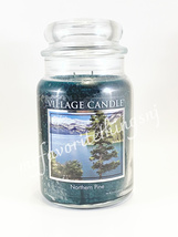 Village Candle Northern Pine Large 26 FL OZ Candle, 2 Wicks - $28.00