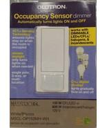 Lutron 50-Watt Single-Pole/3-Way CFL-LED Dimmer with Occupancy Sensing -... - $32.62