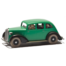 Tintin in America gangstes Voiture Tintin cars Editions Atlas 1/43