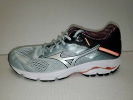 Mizuno Womens Wave Inspire 15 J1GD194403 Gray Running Shoes Lace Up Size 10 - $69.29