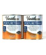 2 Cans Varathane 32 Oz Polyurethane 266245 Satin Interior Ultra Fast Dry... - $27.99