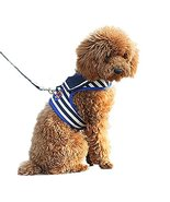 NACOCO Pet Leash Dog Navy Vest Harnesses (X-Small, Blue) - $49.50