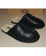 UGG Slipper Shoes Leather Scuffs NEW - $88.11