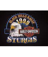 New harley davidson sturgis 1999 rally t shirt thumbtall