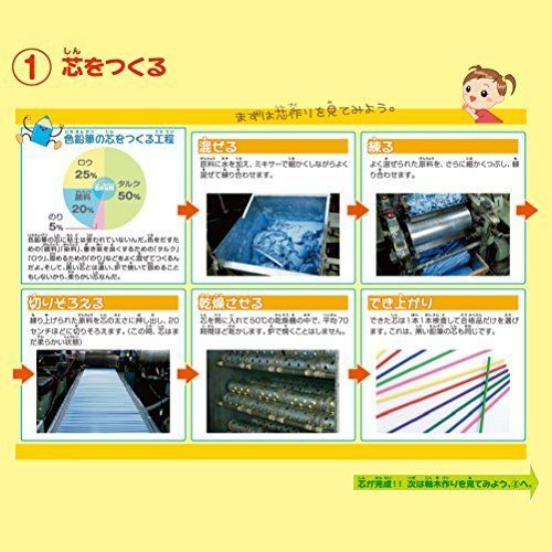Mitsubishi Pencil Colored pencils Unicolor 100 colors UC100C Japan import