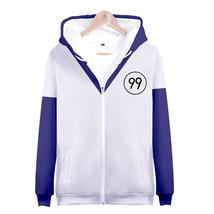 Hunter x Hunter Killua Zoldyck Anime Costume Zipper Hoodie Sweatshirt - $39.99