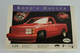 TESTORS 5307 BOYD'S HAULER MODEL CAR KIT CHEVY C 1500 1/2 TON PICK-UP TRUCK - $55.43