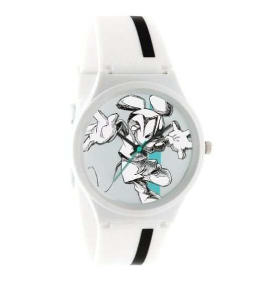 Flud White Mickey Mouse Disney Prologue Sketch II Watch New Officially Licensed