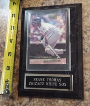 FRANK THOMAS photo & display plaque Chicago White Sox baseball card coll... - $9.49