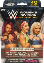 2017 Topps WWE DIVAS Women's Division Wrestling Hanger Box 40 Cards SEALED  - $14.99