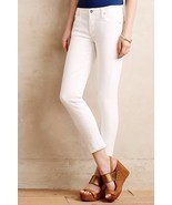 NWT CITIZENS of HUMANITY AVEDON ULTRA SKINNY OPTIC WHITE ANKLE JEANS 30 - £74.91 GBP