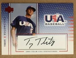 2005 Upper Deck Troy Tulowitzki #S-42 Autograph RC Baseball Card Rockies... - $19.99