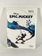 Disney Epic Mickey (Nintendo Wii, 2010) GUARANTEED - Free Shipping - €6,77 EUR