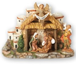 Musical Nativity Figurine