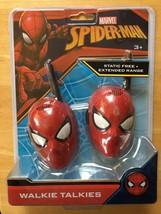 Marvel Spider-Man Walkie Talkies Set-2 for Kids SM-202 New Sealed Extend... - $20.69