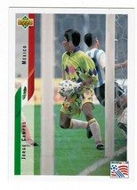 Jorge Campos PR1 1994 Upper Deck World Cup USA '94 Contenders Promotiona... - $8.00