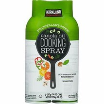 Kirkland Signature Canola Oil Cooking Spray (2 x 397g) Twin Pack - $12.56