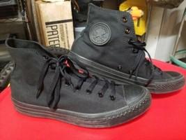 Converse Chuck Taylor All Star Triple Black High Top Canvas Shoes Men 9 ... - $23.38