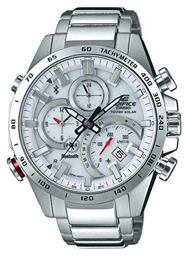 Primary image for [Casio] Watch Edifice Smartphone Link EQB-501XD-7AJF Men's Silver