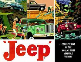 1962 Jeep Line - Promotional Advertising Poster - $9.99+