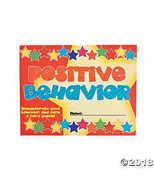 Good Behavior Punch Cards - $6.11