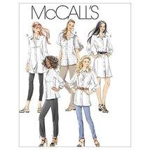 McCall's Patterns M6124 Misses'/Miss Petite/Women's/Women's Petite Shirts In 3 L - $14.21
