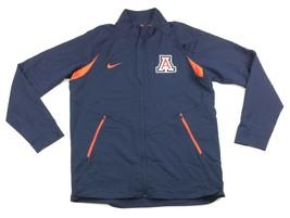 Nike 2015-16 Men's L Arizona Wildcats Disruption Game Jacket 2.0 Navy Orange $85 - $25.73
