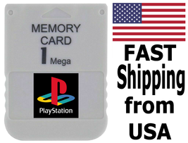 PS1 Memory Card (Sony Playstation) - FAST Shipping From USA - $7.99