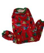 Pet Dog Pajamas Size Large Christmas Dinosaur Theme Soft Lightweight NWOT - $9.32