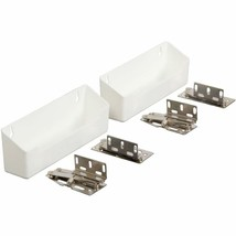 Knape & Vogt PSF862SH-2-W Polymer Sink Front Tray with Hinges Cabinet Or... - $27.15