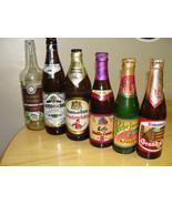 12 Vintage (1992-1993) European Empty Beer Bottles from Various Countries - $13.76