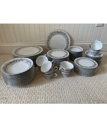SANGO china FLORENTINE 2271 pattern 84-piece SET SERVICE for 12 - $267.37