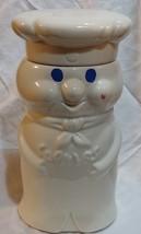 "vtg 1973 Pilsbury Doughboy Cookie jar ceramic 10 1/2"" - $24.55"