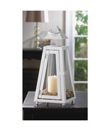White Lighthouse  Lantern Candle Holder Wedding Centerpiece - $10.27