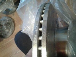 Power Stop JBR1165XL & JBR1165XR, Front Driver & Pass,, Drilled & Slotted Rotor image 2