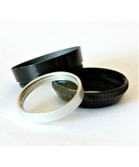 Paillard Bolex UV Filter + Holder + Lens Hood For D-Mount 8mm Movie Came... - $22.64