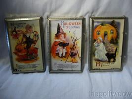 3 Bethany Lowe Halloween Vintage Postcard BB Games Joy-Tricks-Greetings image 1