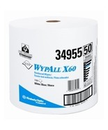 WYPALL X60 WIPERS WHITE JUMBO ROLL KREW 500 - $420.25