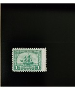 "1920 1c The ""Mayflower"", Green Scott 548 Mint F/VF LH - $8.99"