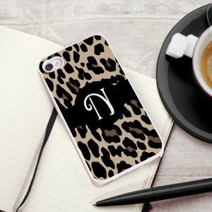 Primary image for Luscious Leopard iPhone Cover with white trim