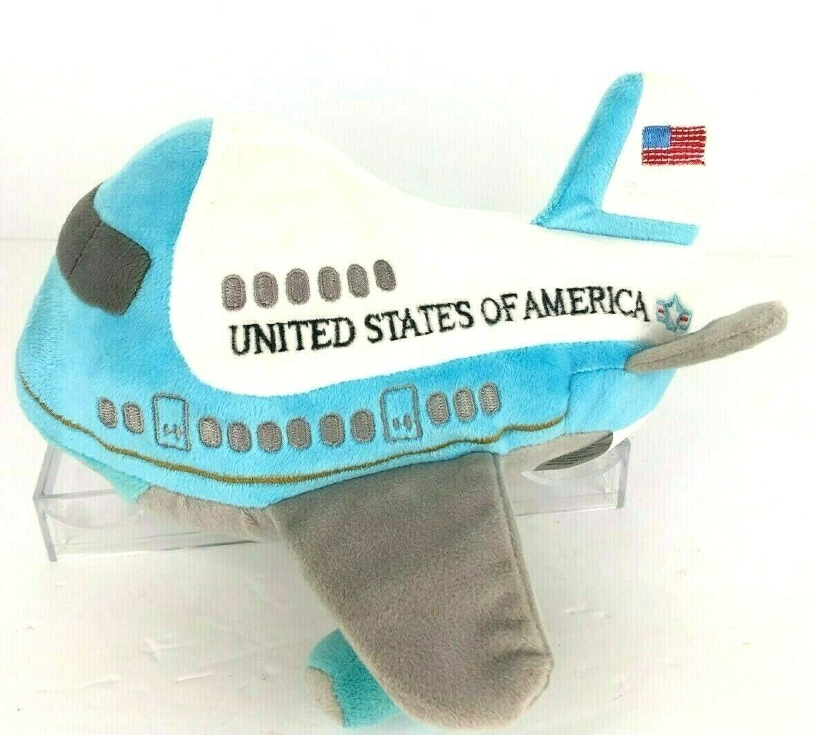 Primary image for Presidential Seal Air Force One Plane Plush Toy Take Off Sound Flag Stuffed