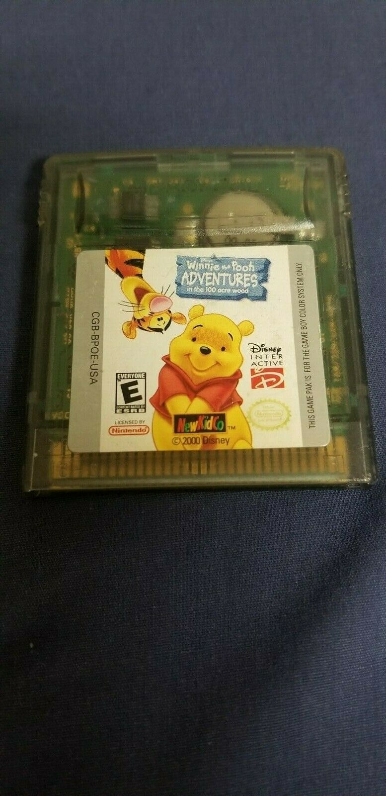 Disney Winnie the Pooh Adventures in the 100 Acre Wood Nintendo Game Boy Color