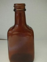 "5 1/2"" Tall Brown McCormick Schilling Extract Bottle - $3.00"