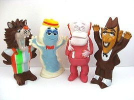General Mills  1970's Serial monster Vintage  Soft vinyl figure Set of 4... - $1,200.00